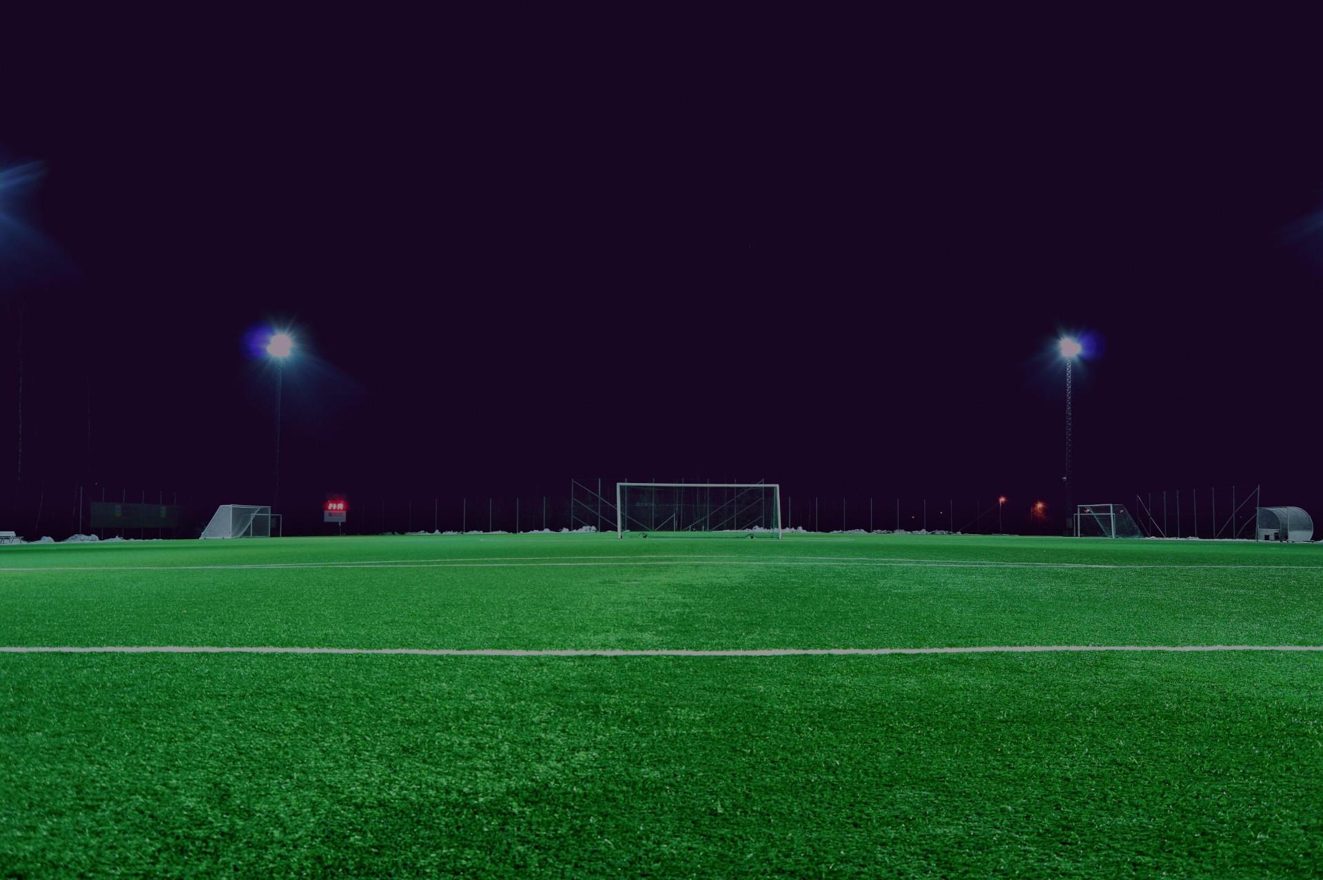 Дренаж футбольного поля